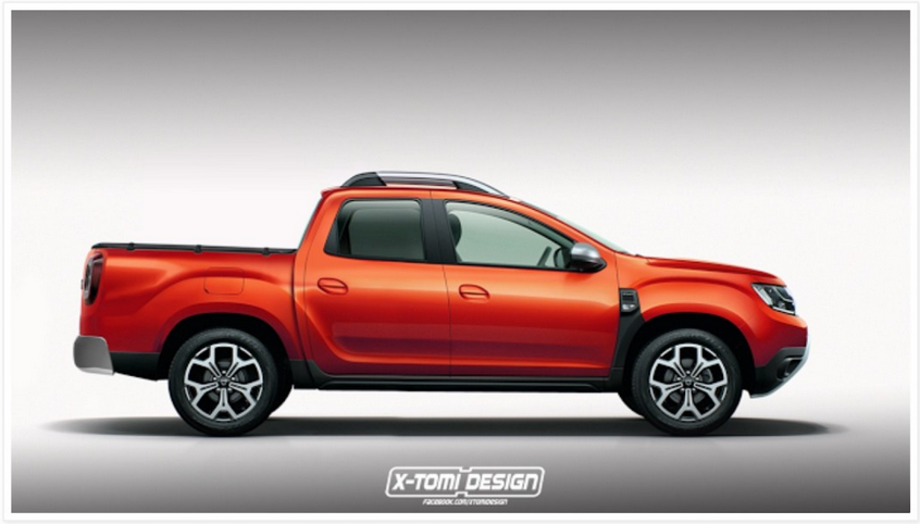 Le nouveau Duster en version Pick-Up ?